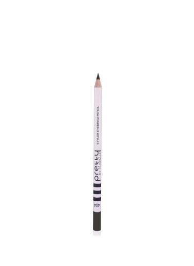 Flormar Flormar By Pretty Styler Eyebrow Kalem 404 Dark Brunette Siyah